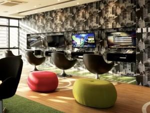 グラマシーレジデンスのゲーム室